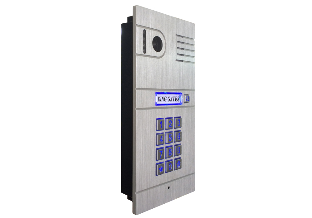 WiFi Intercom With Monitor & Built-in Keypad