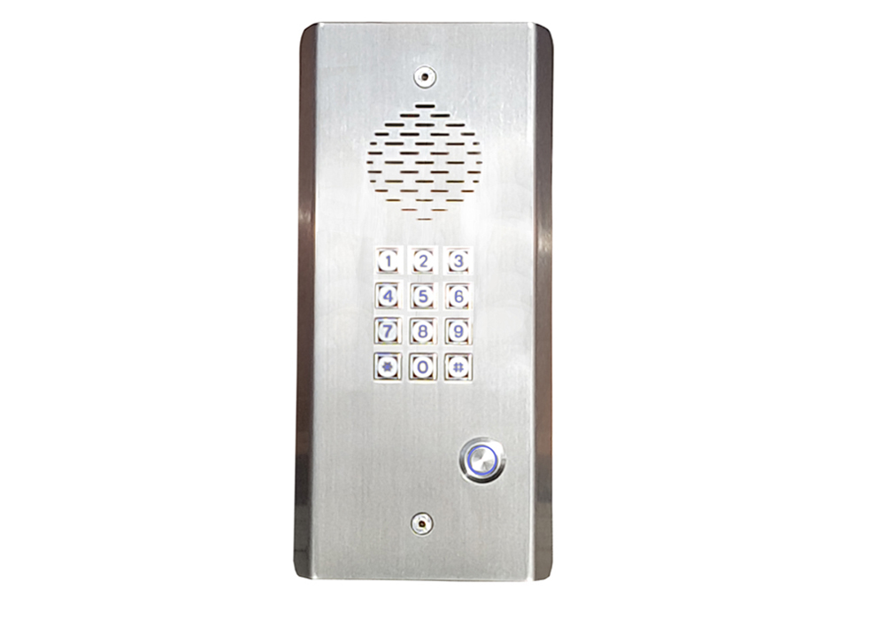 GSM Intercom with Keypad (1 to 4 Call Buttons)